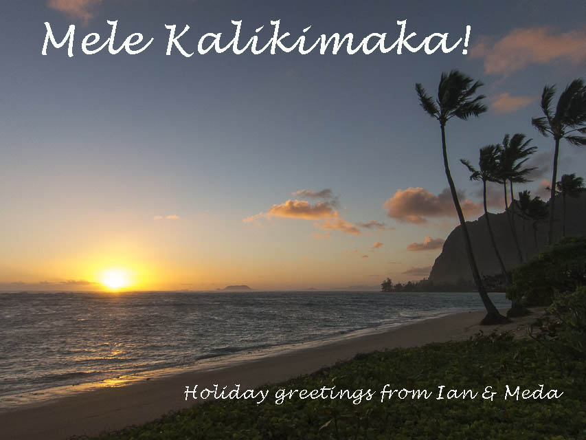 Greetings from Kaaawa