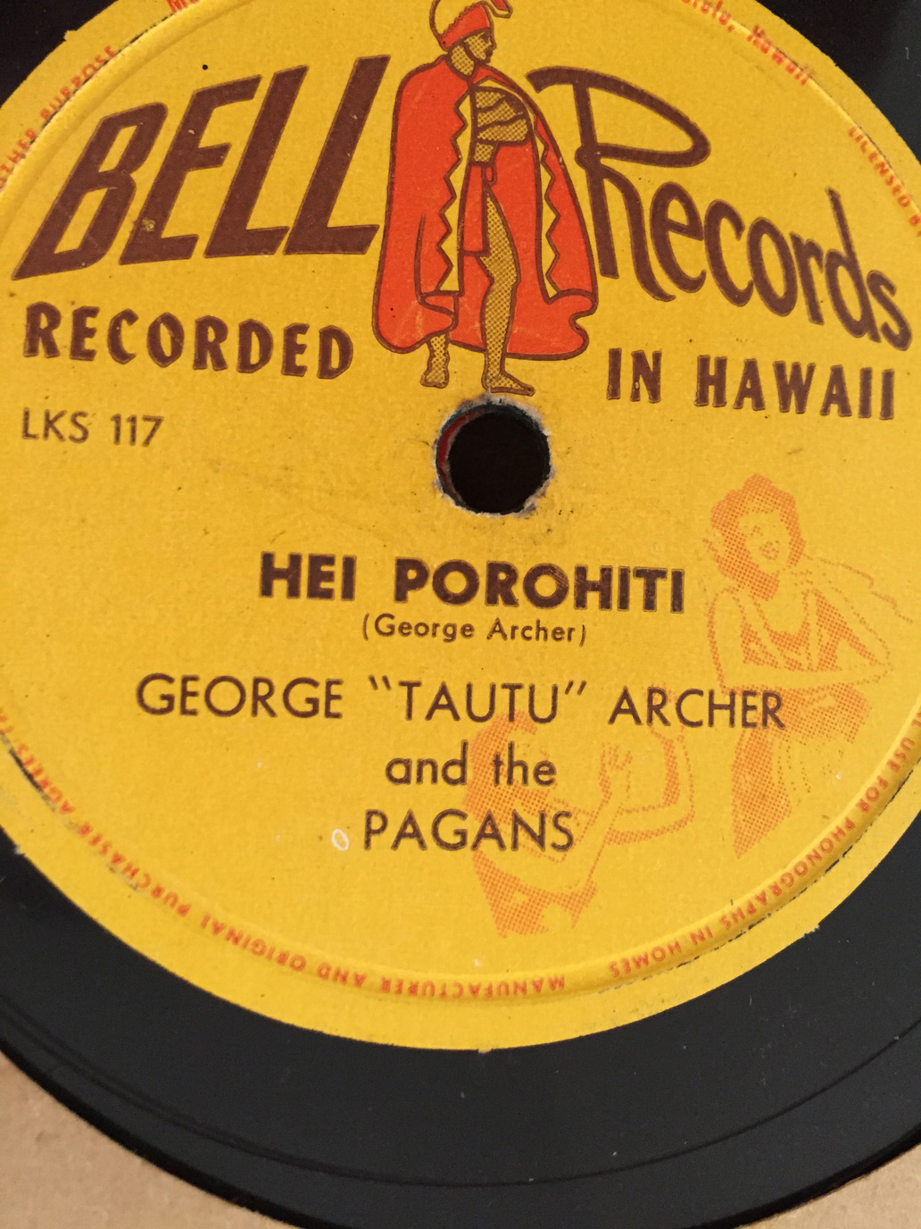 Vintage Hawaiian records