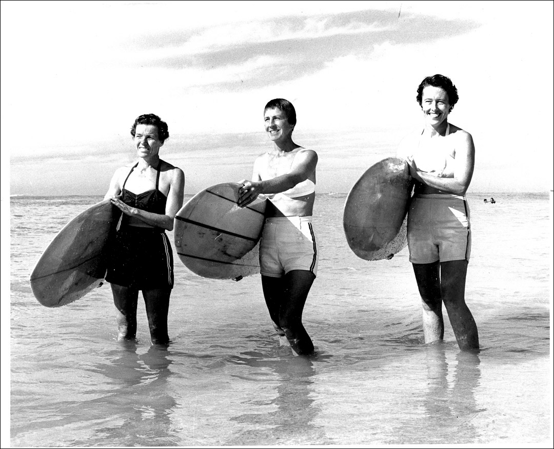More vintage photos from the early days of the waikiki surf club i l