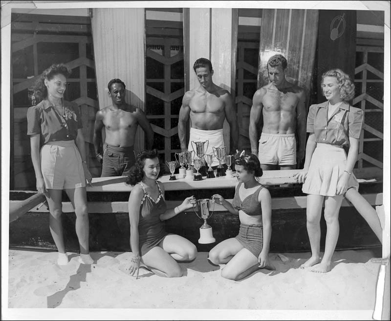 hawaii surfing and paddling championships june 1943 index