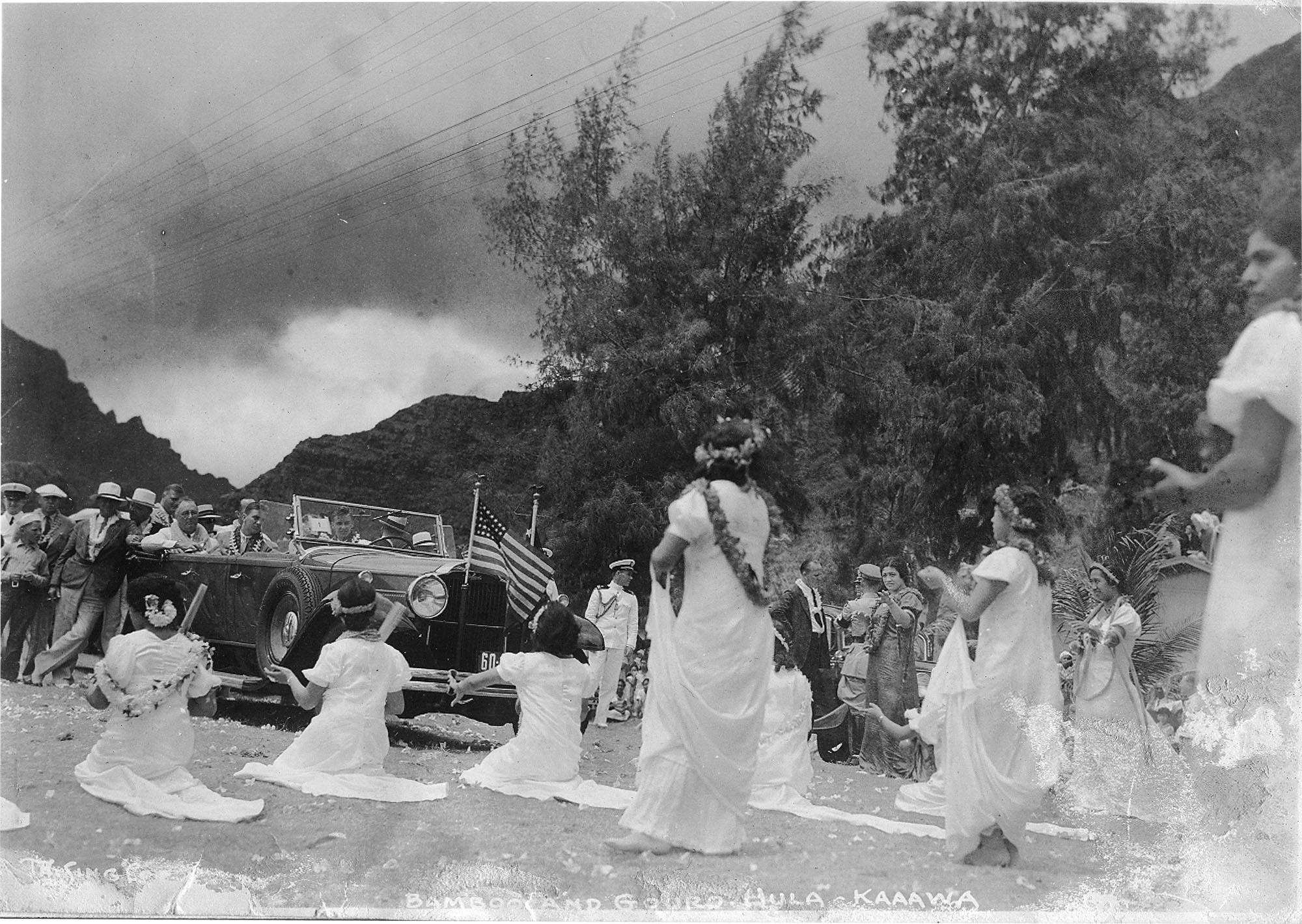 1934 Presential visit