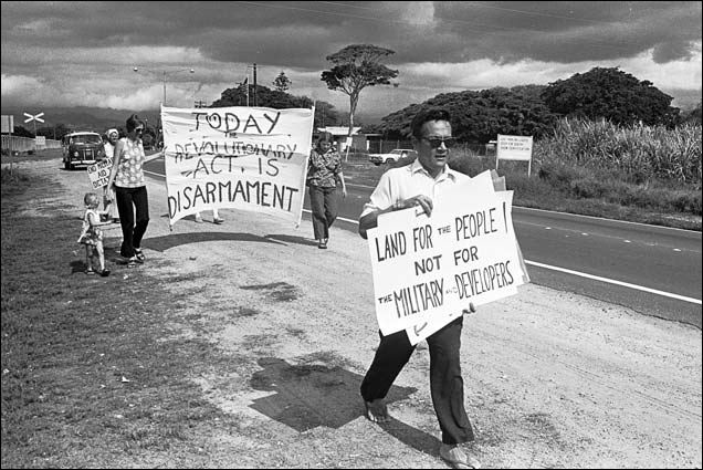 1976 demonstration for disarmament